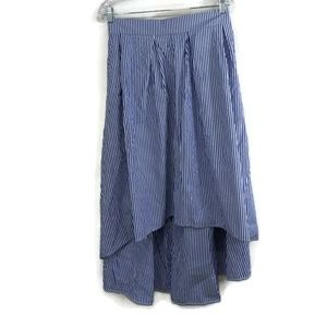 Fashion to Figure Size 3 (3X) High Low Stripe